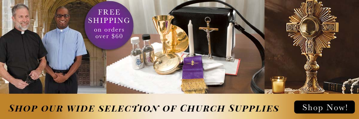 Shop our wide selection of Church Supplies