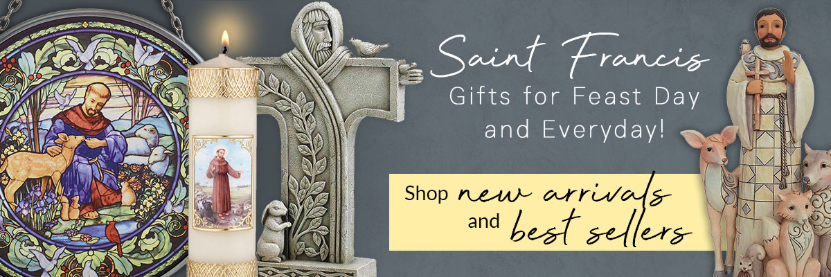 Catholic Gifts and More Saint Francis