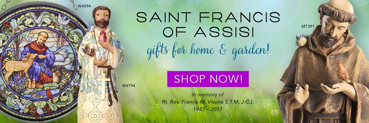 St. Francis gifts for home and garden