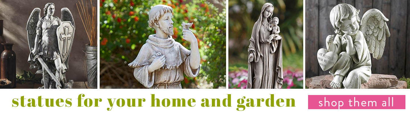 Statues for your home and garden - shop them all