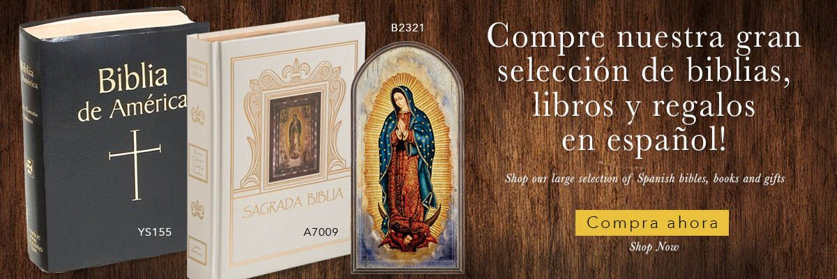 Compre nuestra gran selección de biblias, libros y regalos en español! - Shop our large selection of Spanish bibles, books and gifts!