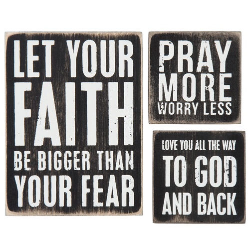 Faith Magnet Set
