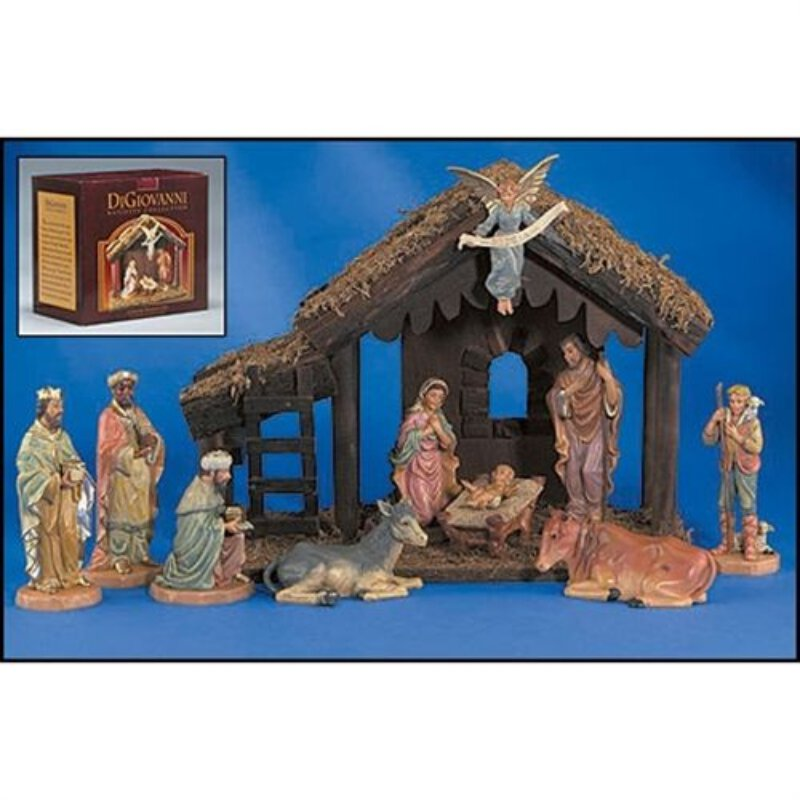 DiGiovanni Nativity - 10 Piece Set