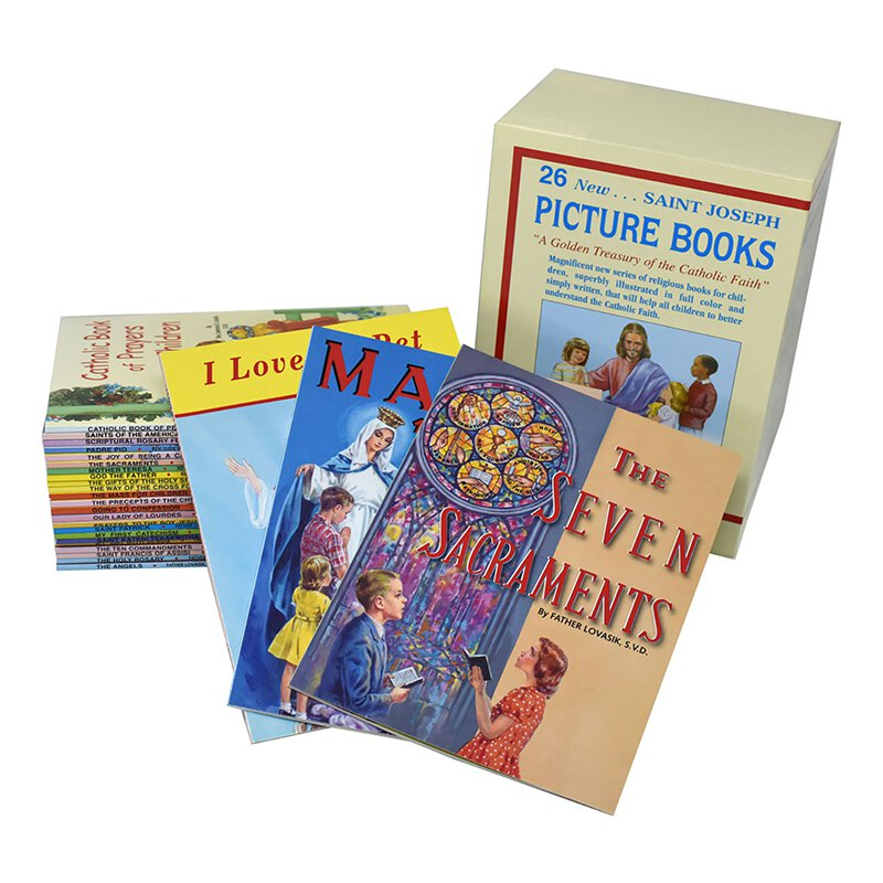 Saint Joseph Picture Books - Boxed Set