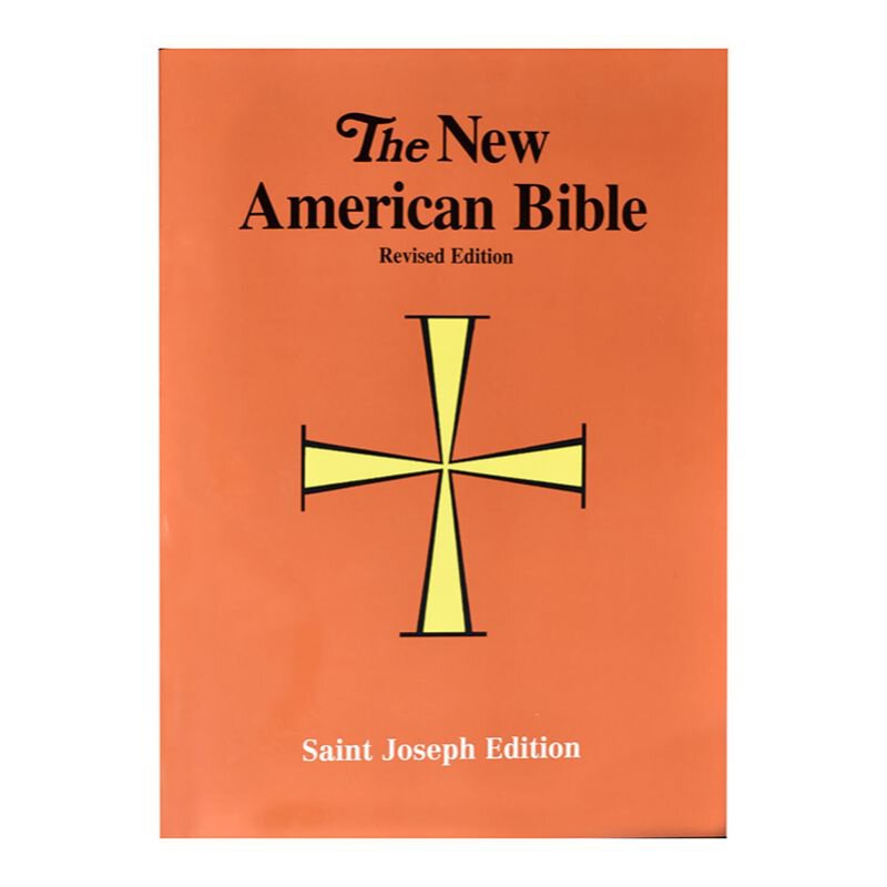 Paperback New American Bible Revised Edition