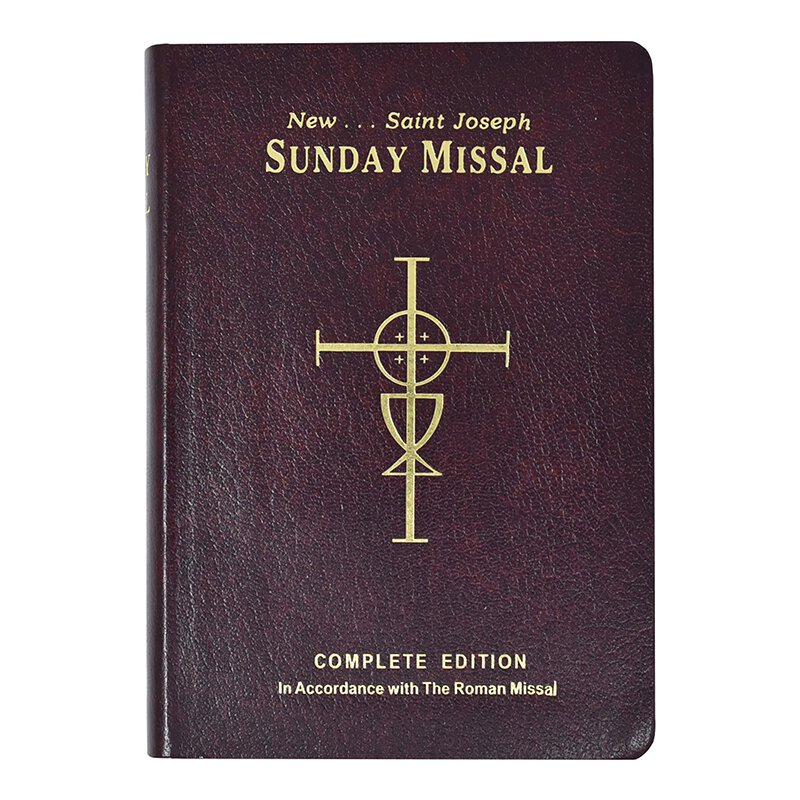 Complete 3-yr Cycle Edition Autom St Joseph Sunday Missal