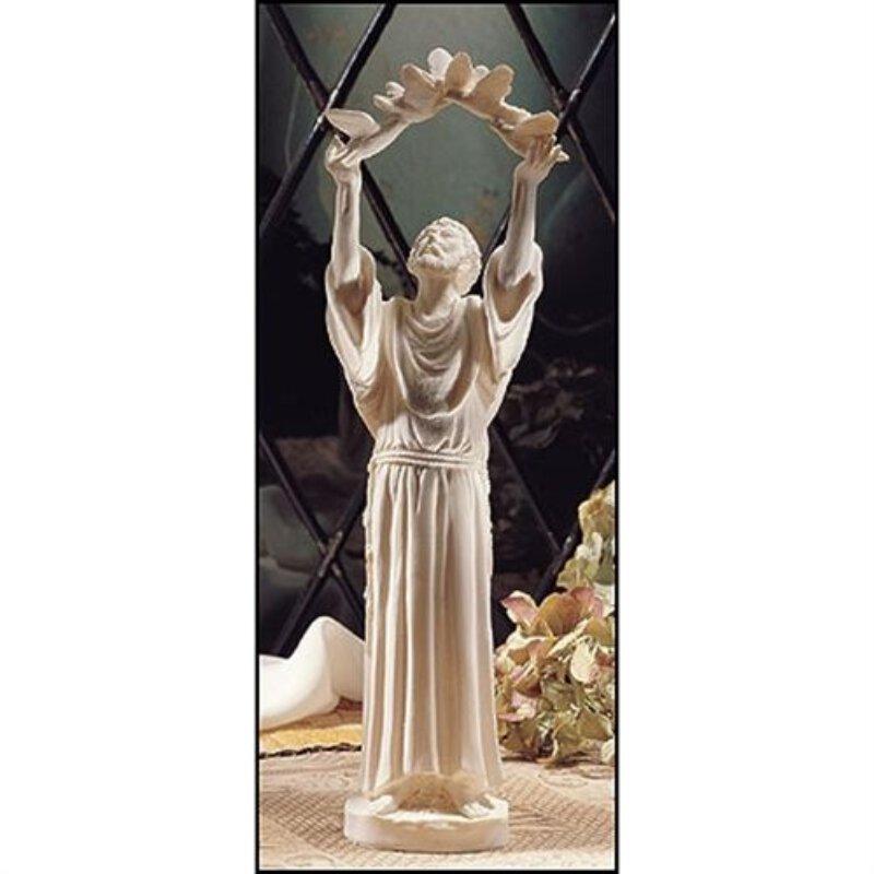 Saint Francis with Doves - Catholic Figurine