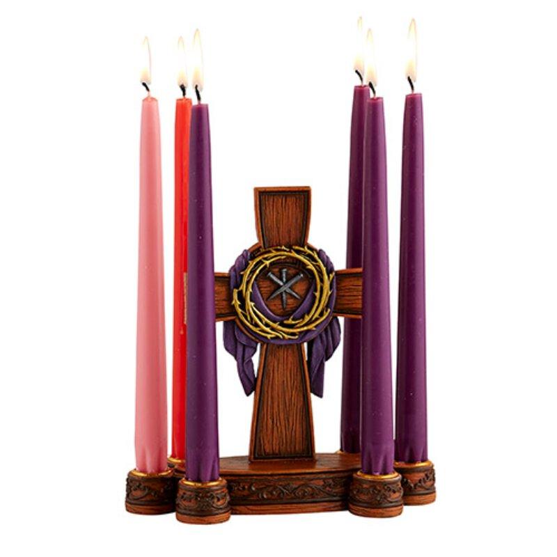 Lenten Candleholder