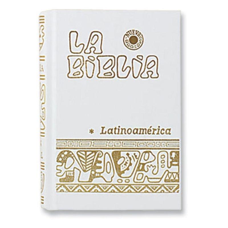 White Pocket Size La Biblia Latinoamerica - Hardcover Spanish Bible