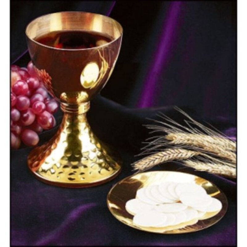 Chalice and Paten Set - Compact Size