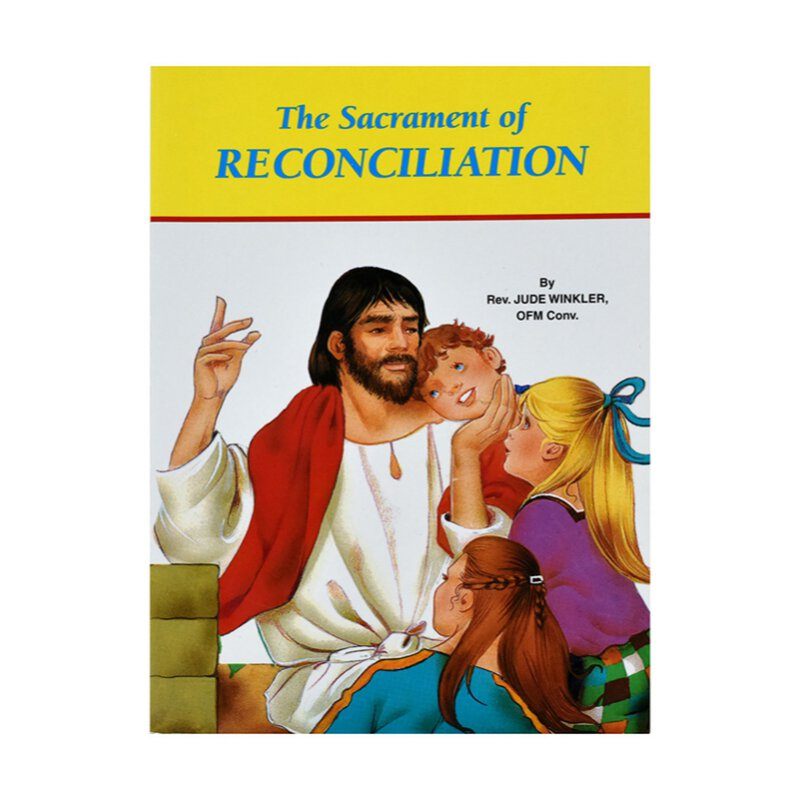 The Sacrament of Reconciliation - Saint Joseph Picture Book