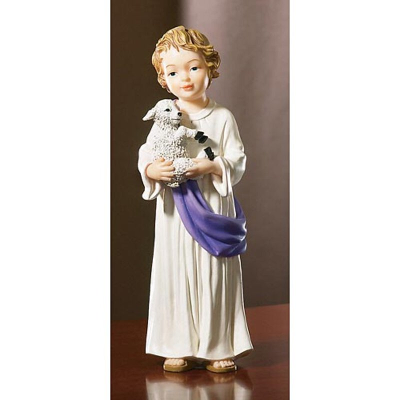 Baby Jesus with Lamb - Reconciliation Figurine