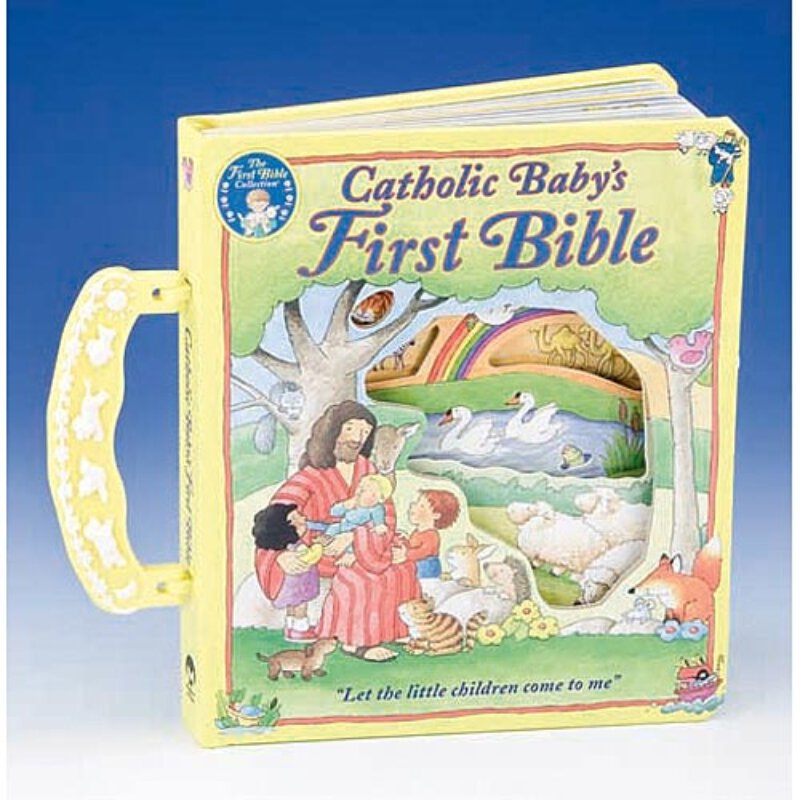 Catholic Baby's First Bible - Board Book with Handle
