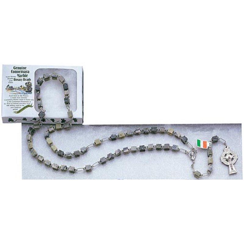 Genuine Connemara Marble Irish Rosary Rosaries