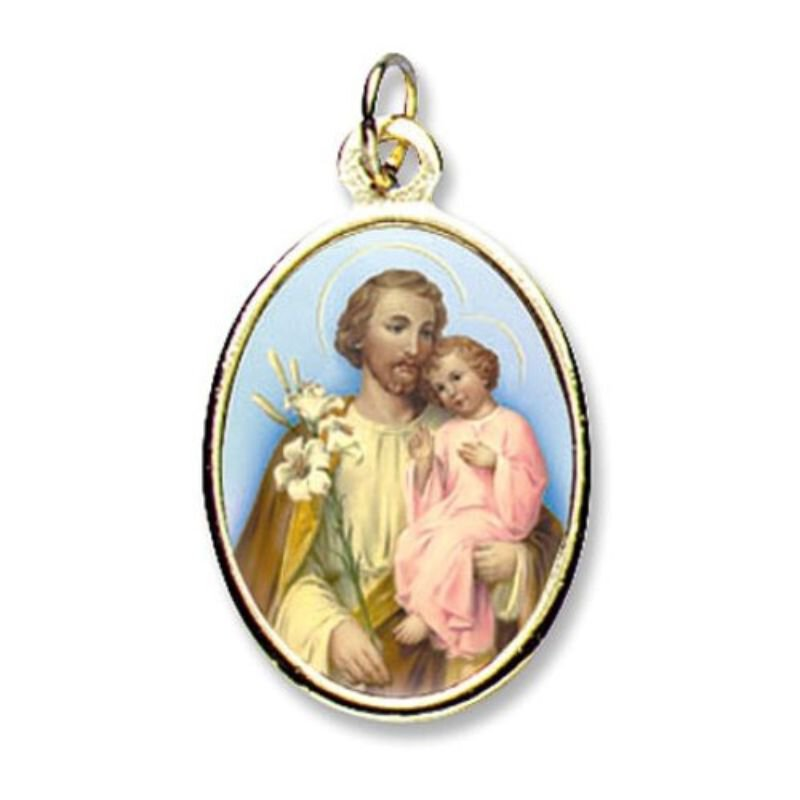 Saint Joseph Epoxy Medals - Package of 24