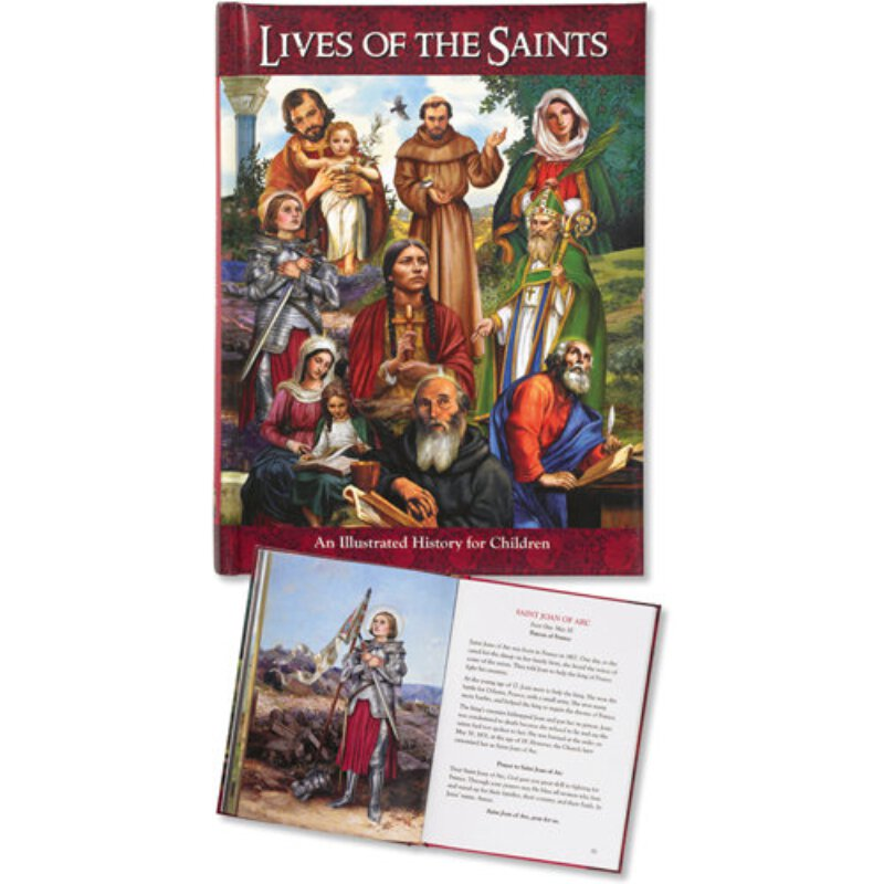 Illustrated History For Children - Lives of the Saints