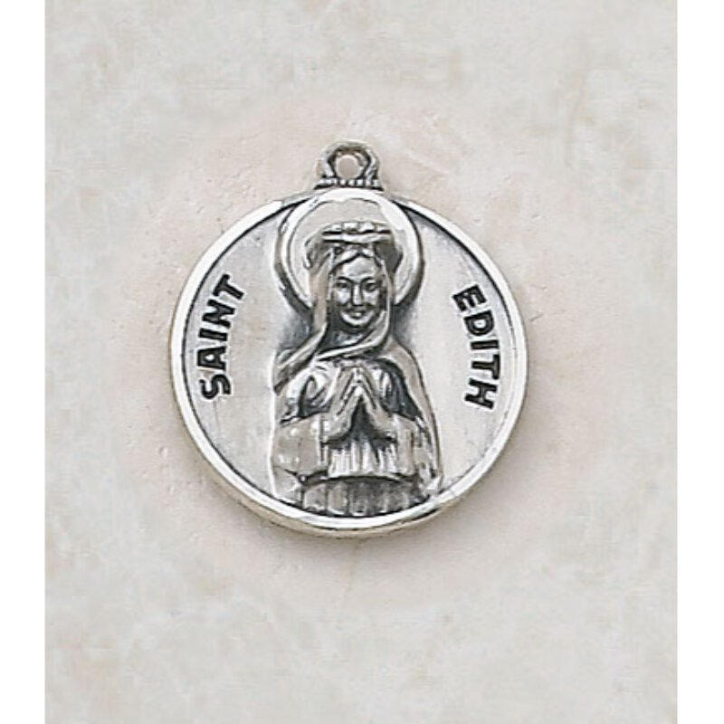 Saint Edith Medal - in Sterling Silver