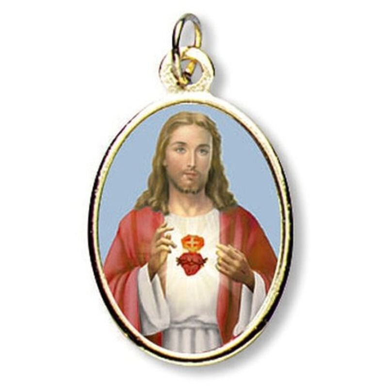 Sacred Heart of Jesus Epoxy Medal - Package of 24