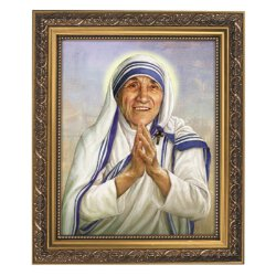 Saint Mother Teresa of Calcutta - Framed Print