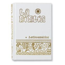 White Pocket Size La Biblia Latinoamerica - Hardcover Spanish Bible