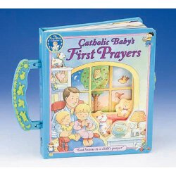 Catholic Baby's First Prayers - Board Book with Handle