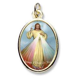 Divine Mercy Epoxy Medals - pk/24