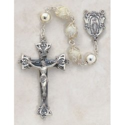 Mother of Pearl - Double Capped Women's Rosary
