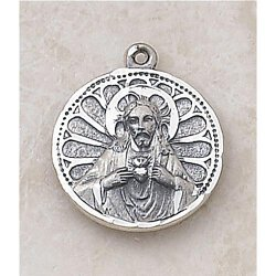 Creed Scapular Medal - In Sterling Silver