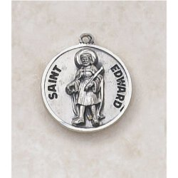 St Edward Medal in Sterling Silver