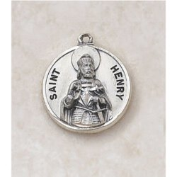 Saint Henry Medal in Sterling Silver