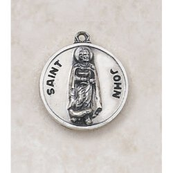 Saint John Medal - In Sterling Silver