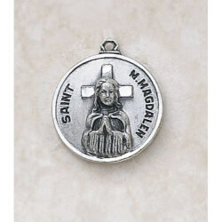 Saint Mary Magdalene in Sterling Silver