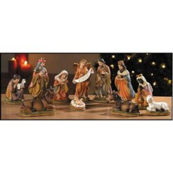 Sacred Traditions - Nativity Scene Set