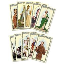 Men Saints Holy Card Assortment - 5 sets of 20