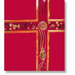 Red with God Foil - Ceremonial Service Binder