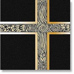 Black with Gold Foil - Ceremonial Service Binder