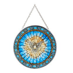 Holy Spirit Suncatcher - To Hang or Stand