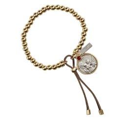 Saint Michael - Stretchable Bead Bracelet