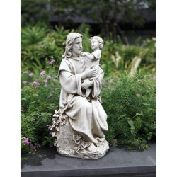 Jesus with Child - Garden Statue