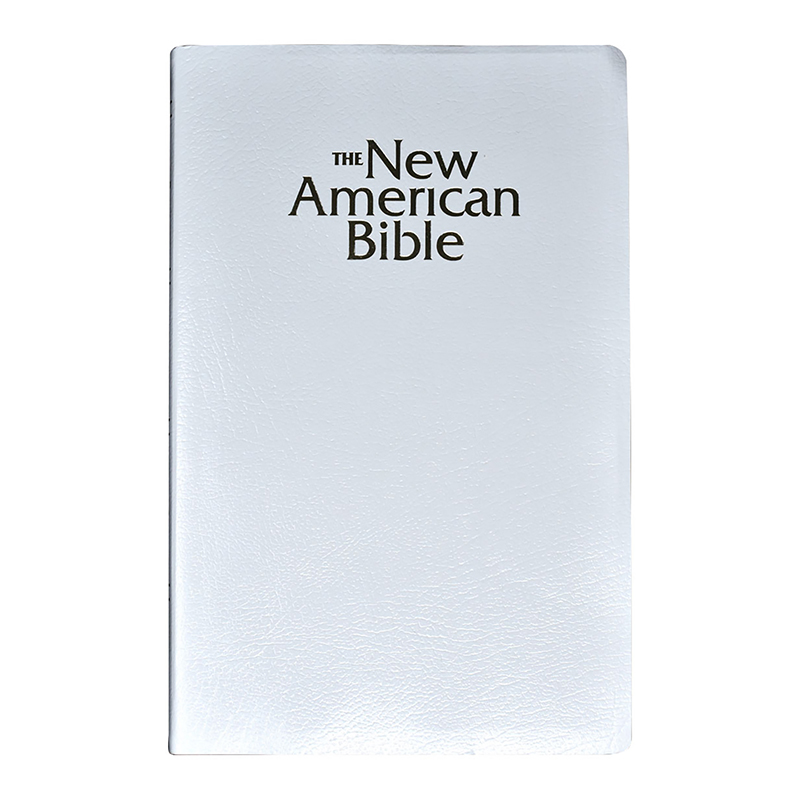 White New American Bible - Revised Gift Edition