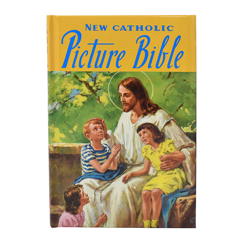 New Catholic Picture Bible - Padded Hardcover
