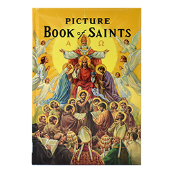 Picture Book of Saints - Padded Hardcover Book for Catholic Children