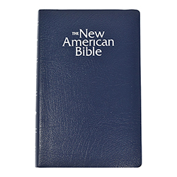 Navy Blue New American Bible - Revised Gift Edition