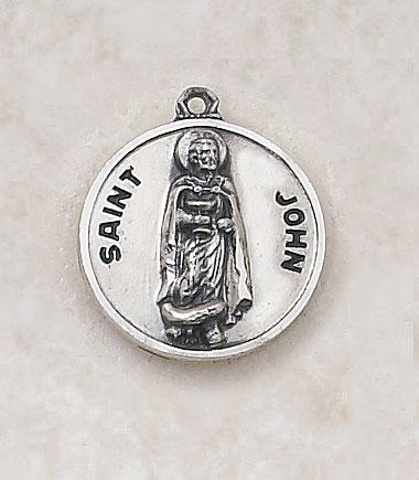 Saint John MedalIn Sterling Silver