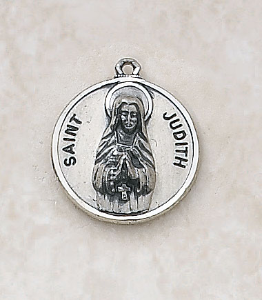 Saint Judith Medal - in Sterling Silver