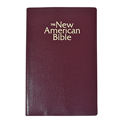 Burgundy New American Bible - Revised Gift Edition