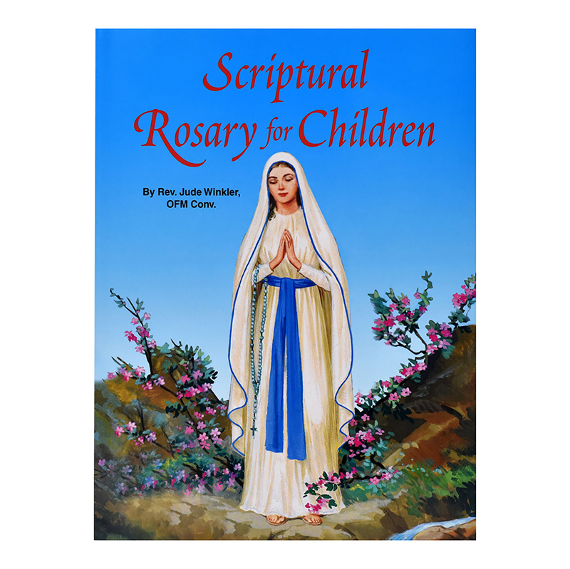 Scriptural Rosary for Children - Saint Joseph Picture Book