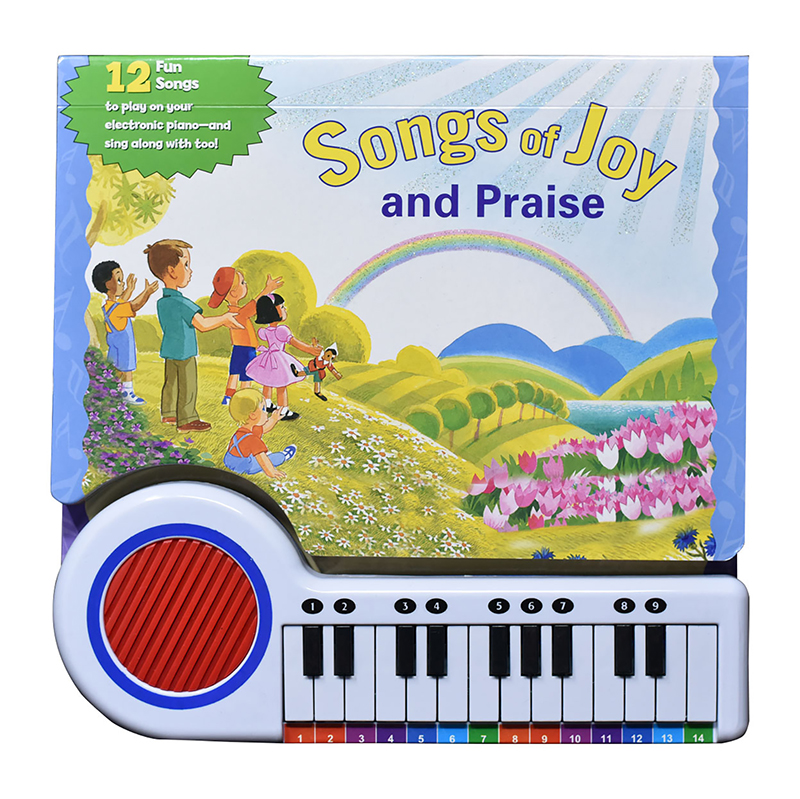 Songs of Joy and Praise - Piano Book for Kids
