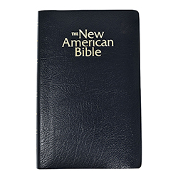 Black New American Bible - Revised Gift Edition