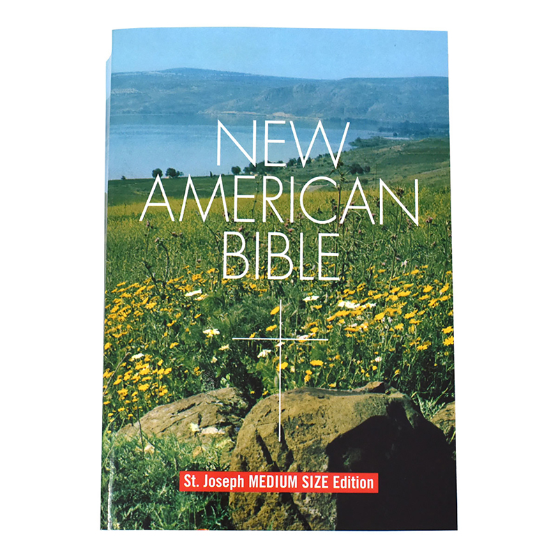 Student Edition New American Paperback Bible - Catholic Book Publishing